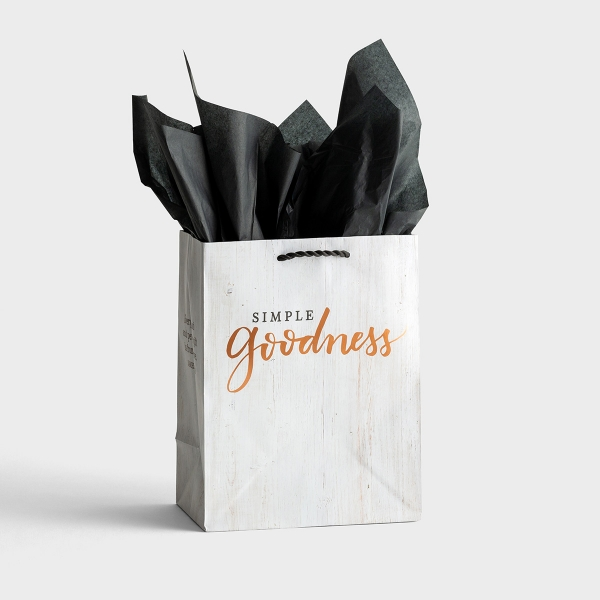 Simple Goodness - Medium Gift Bag with Tissue