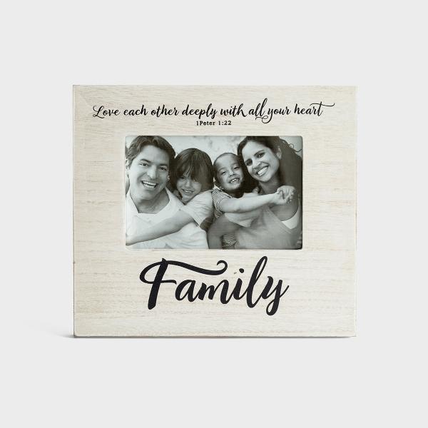 Family - Wooden Photo Frame