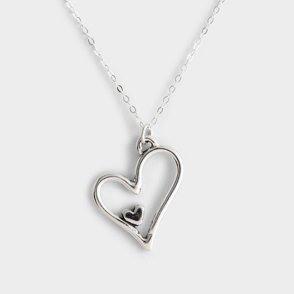 God Has Given Me You - Adoption Silver Necklace