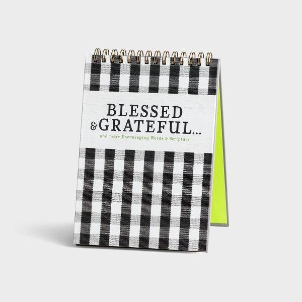 Blessed & Grateful - Desktop Art