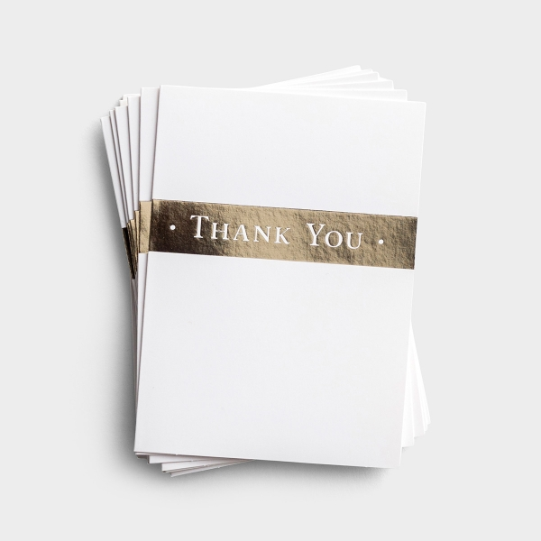Thank You - The Lord Bless You - 10 Premium Note Cards - Blank