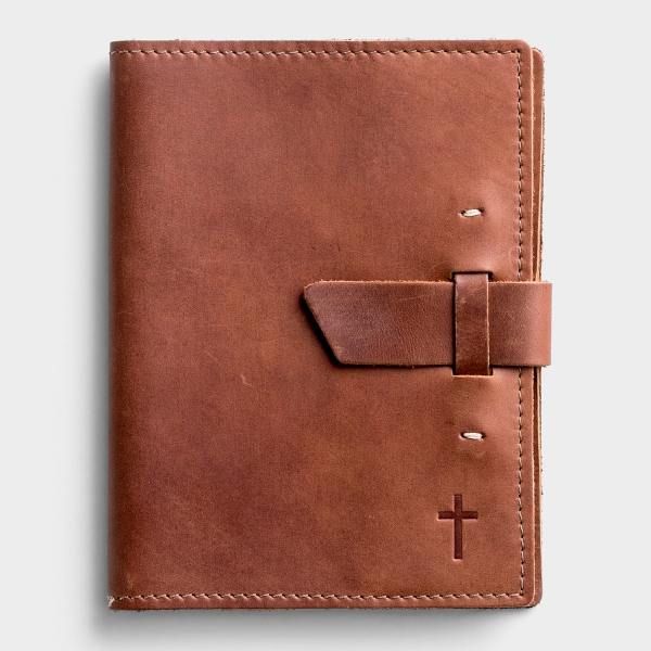 Leather Journal with Cross, Buckle Closure - Limited Edition