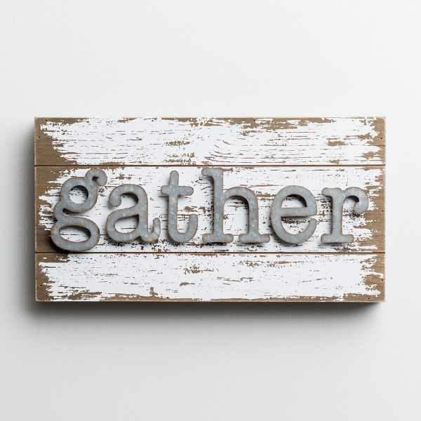 Gather - Wood & Metal Wall Art