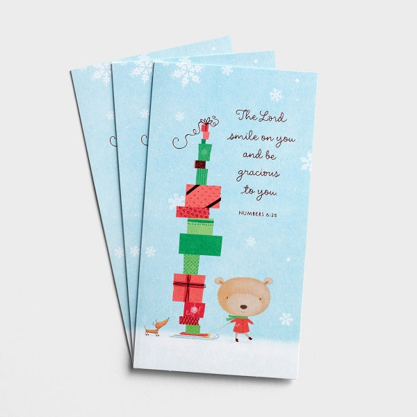 Christmas - Thanking God for You - 3 Money & Gift Cards