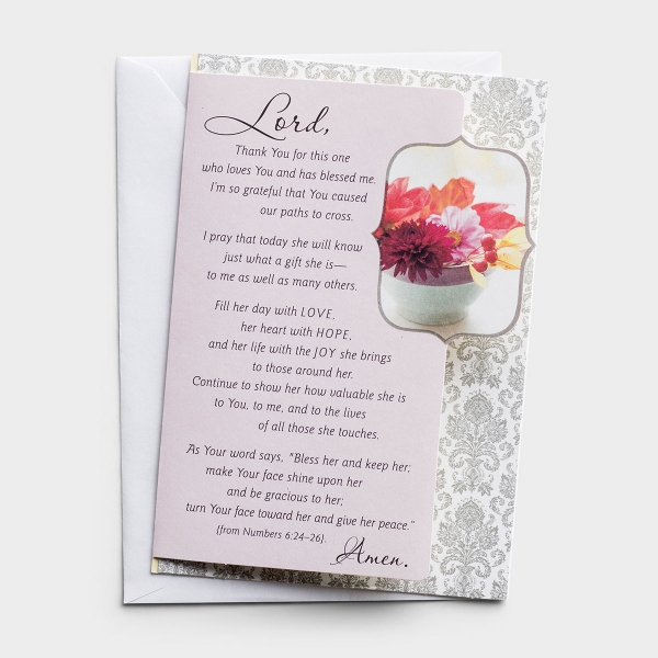 Ministry Appreciation - Women in Ministry - Lord, Thank You - 1 Premium Card