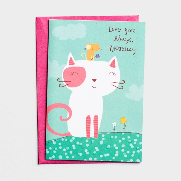 Mother's Day - Mom - Love You Always - 1 Premium Card