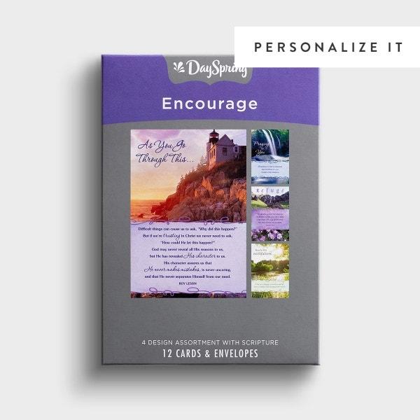 Encouragement - Bold Promises - 12 Boxed Cards