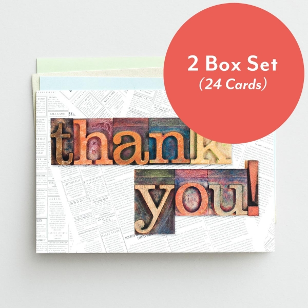 Thank You - Many Blessings - 2 Box Set, KJV