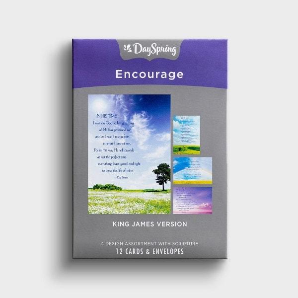 Roy Lessin - Encouragement - 12 Boxed Cards, KJV