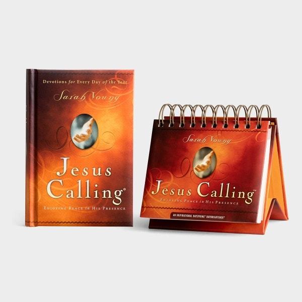 Sarah Young - Jesus Calling - 365 Day Calendar & Book Set