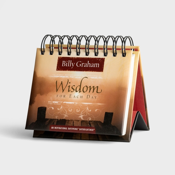 Billy Graham - Wisdom for Each Day - 365 Day Perpetual Calendar