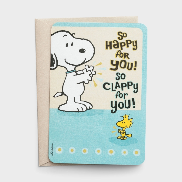 Peanuts® - Congratulations - So Happy for You - 1 Card