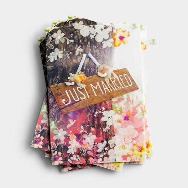 Wedding - Just Married - 6 Premium Cards