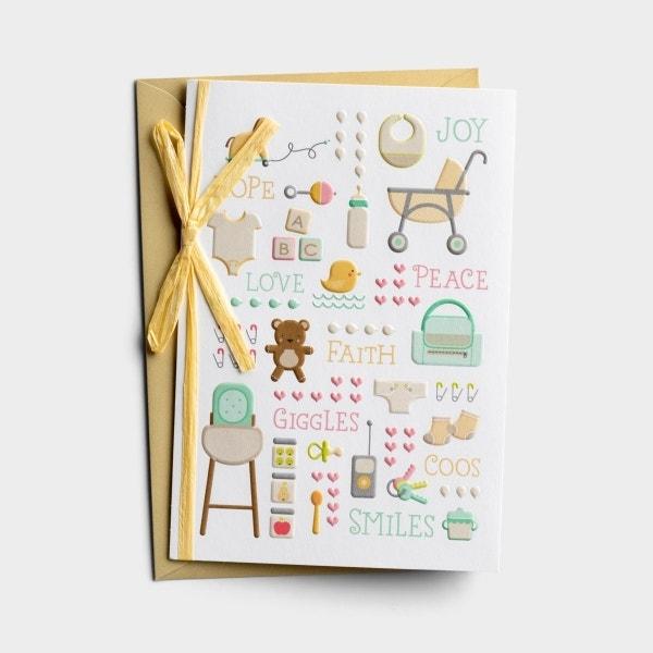 Baby - Baby Shower - 1 Premium Card