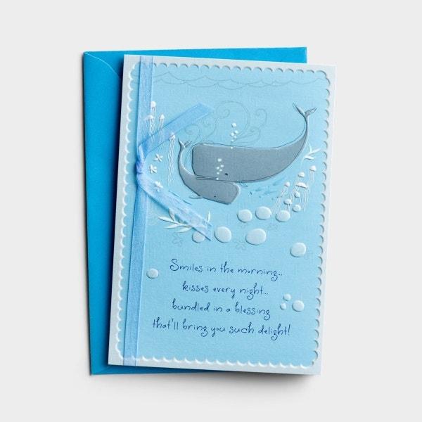 Baby Boy - Congratulations - 1 Premium Card
