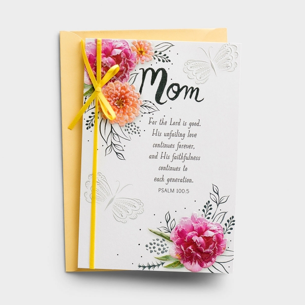 Remind your mom how much she means to you this Easter season with this premium DaySpring Easter card.