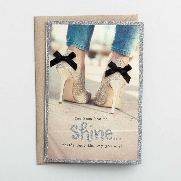 Sadie Robertson - Birthday - Shine On - 3 Premium Cards
