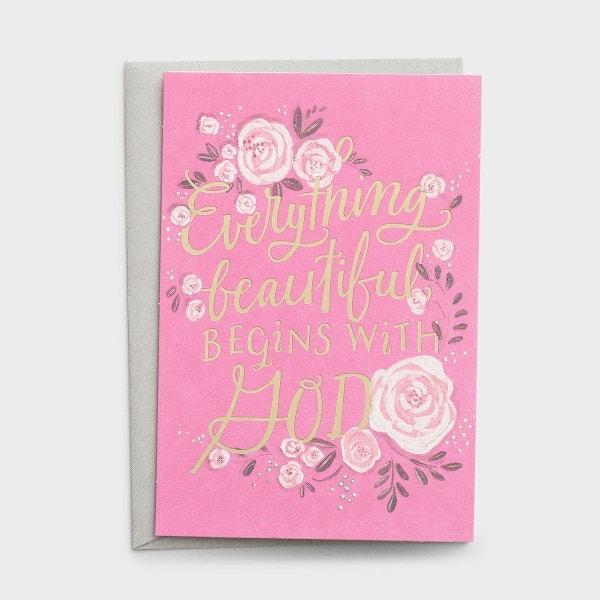 Wedding Shower - Everything Beautiful - 1 Premium Card