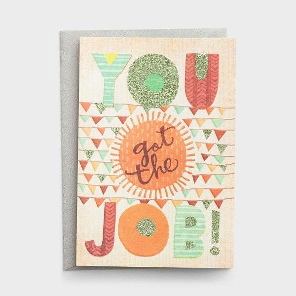 Congratulations - You Got the Job - 1 Premium Card