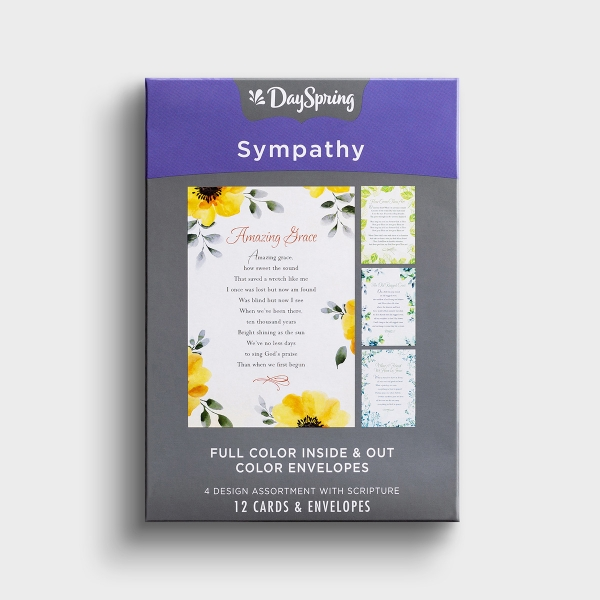Sympathy - Hymns - 12 Boxed Cards