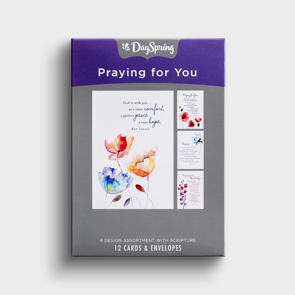Roy Lessin - Praying for You - Meet Me in the Meadow - 12 Boxed Cards, KJV