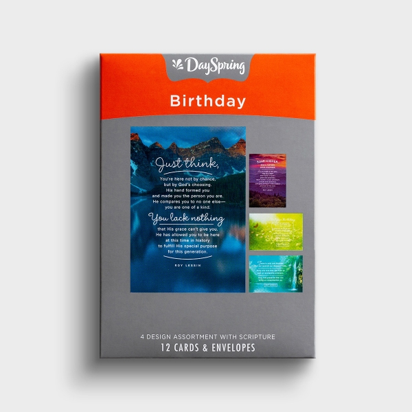 Roy Lessin - Birthday - A New Year - 12 Boxed Cards