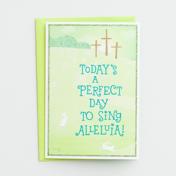 Easter - Child - Today's a Perfect Day - 1 Premium Card