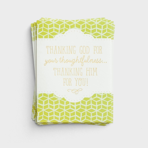 Thanking Him For You - 10 Thank You Notes