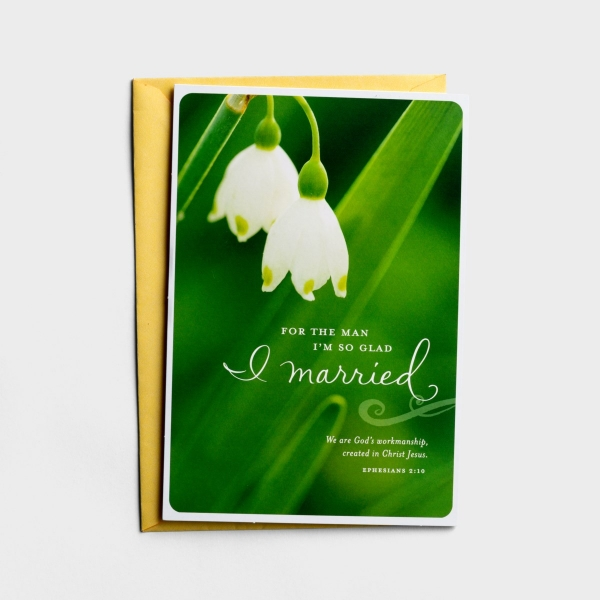 Easter - Husband - For the Man I Married - 1 Premium Card