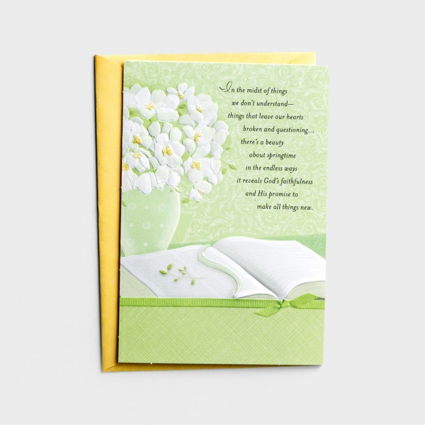 Easter - Difficult Times - In the Midst of Things - 1 Greeting Card