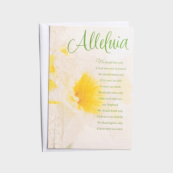 Easter - For Anyone - Alleluia - 1 Card