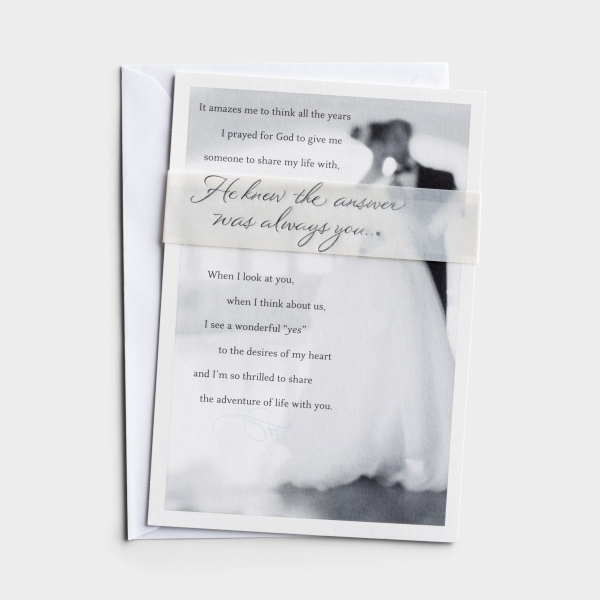 Wedding - For Your Spouse - 1 Premium Card