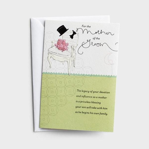 Wedding - Mother Of The Groom - 1 Premium Card