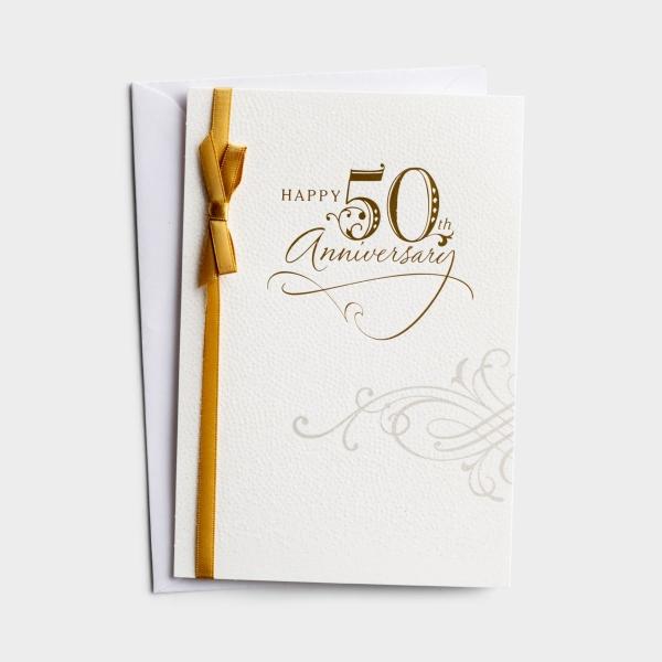 Anniversary - 50th Anniversary - 1 Premium Card