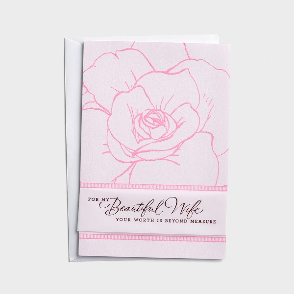 Mother's Day - My Beautiful Wife - 1 Premium Card