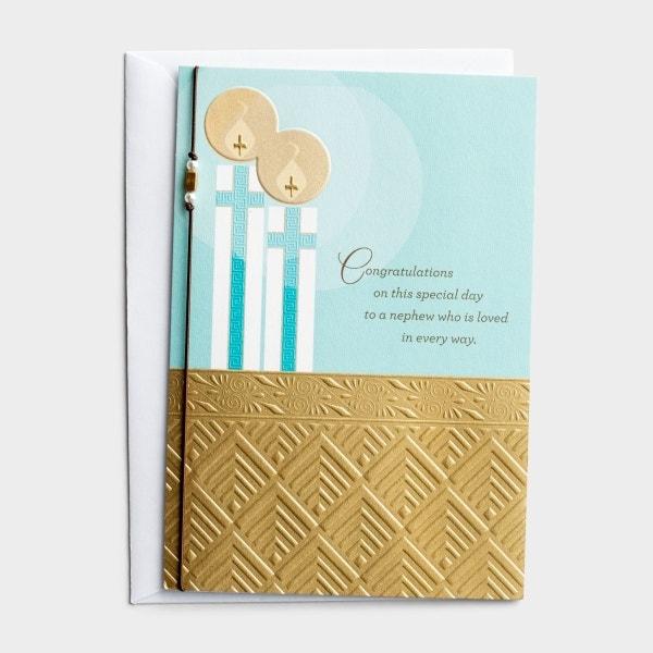 Communion - Nephew - Special Day - 1 Premium Card