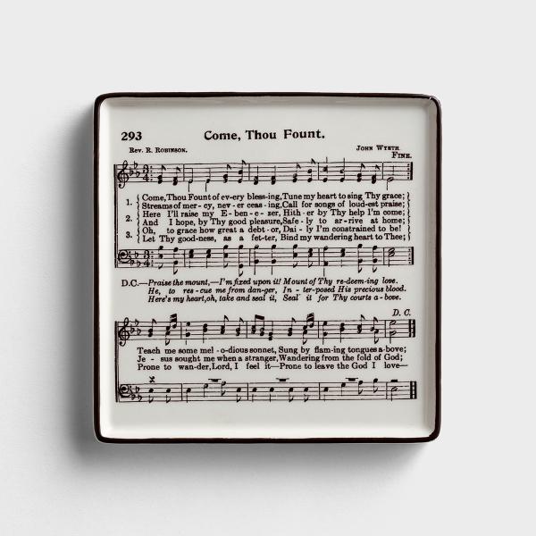 Come Thou Fount - Ceramic Plaque