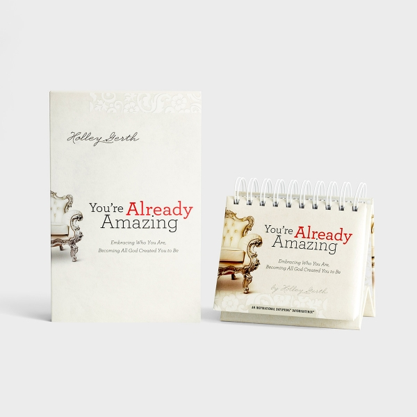 Holley Gerth - You're Already Amazing - Book and Perpetual Calendar Set