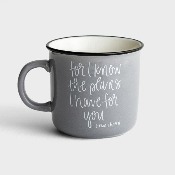 For I Know the Plans - Ceramic Campfire Mug