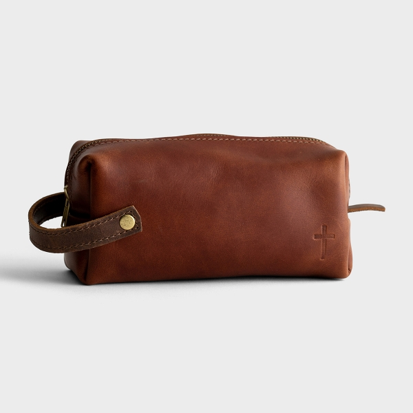 High Line Leather Carry-All Pouch