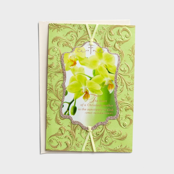 Mother's Day - The Heart of a Christian Mother - 1 Premium Card