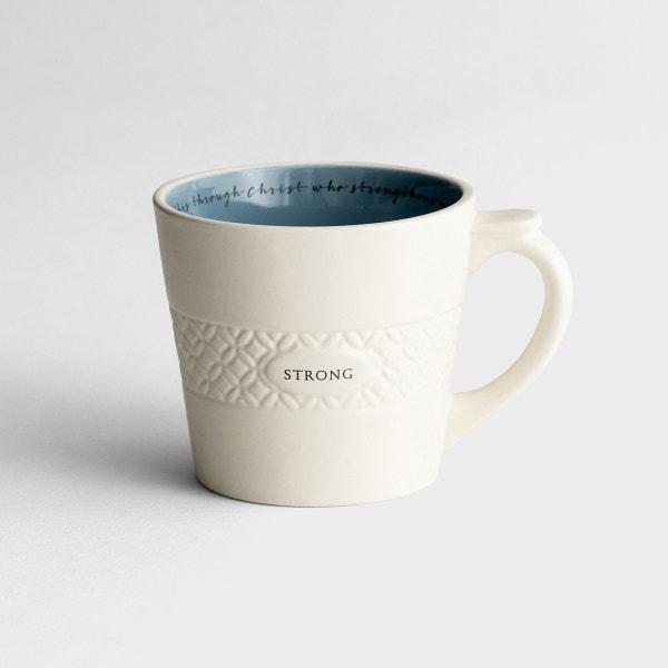 Strong - Textured Mug