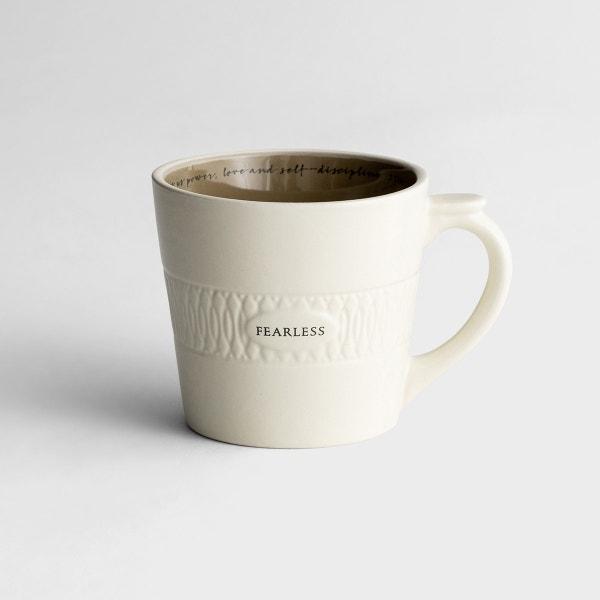 Fearless - Textured Mug