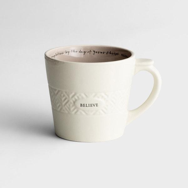 Believe - Textured Mug