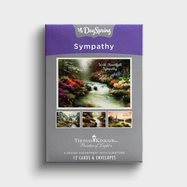 Thomas Kinkade - Sympathy - 12 Boxed Cards, KJV