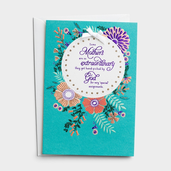 Mother's Day - Mom - So Extraordinary - 1 Premium Card