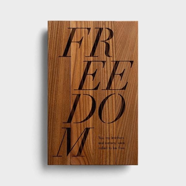 Freedom - Wooden Wall Art