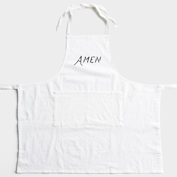 Amen - Crinkle Cotton Apron