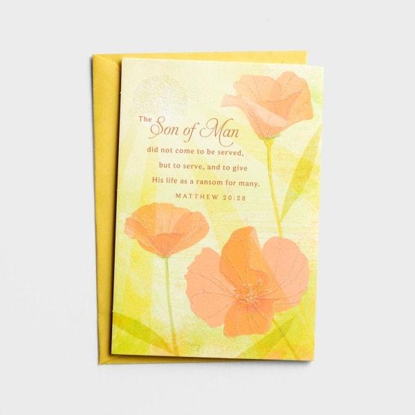 Easter - As You Faithfully Serve - 1 Premium Card