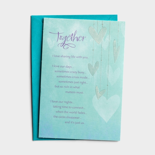 Anniversary - Our Life Together - 1 Greeting Card